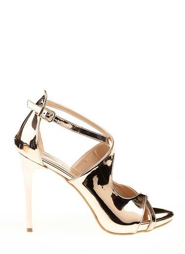 D by Divarese İnce Topuklu Ayakkabı Bakır